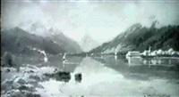 steineremeer v. ... aus gesehen bei zell am see by p. heilinger