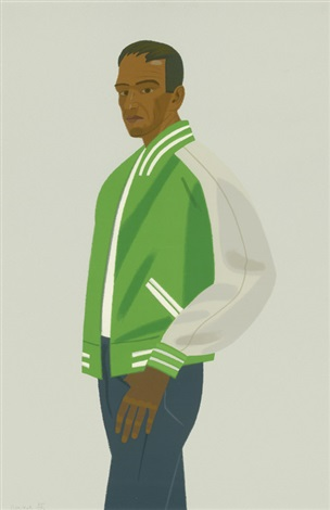 green jacket from alex and ada by alex katz