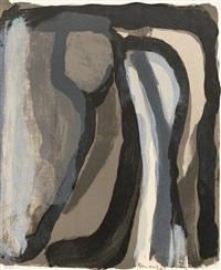 le pierrot, les beaux-arts et la mort (bk w/4 works) by bram van velde