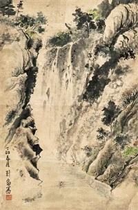 山水画 by liu lun