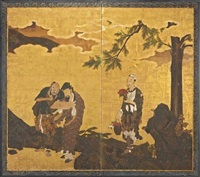 chinese immortals by japanese school-kano (17)