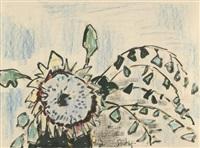 sonnenblume by karl schmidt-rottluff