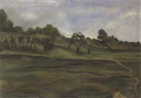 a green landscape by sydney s. gelfand