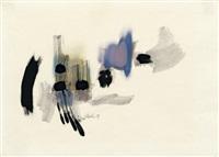 abstrakte komposition by fritz winter