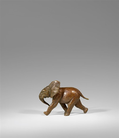 laufender elefant by renée sintenis
