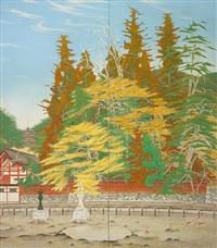 autumn at itsukushima by nakamura hakurei