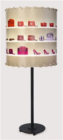 untitled prada table lamp and shade collab wclaus fottinger by andreas gursky
