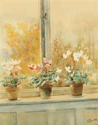 sowbreads on a window sill by olga (grand duchess) alexandrovna