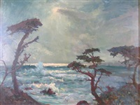 seascape by frank montague moore