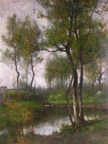 woodland brook by john francis murphy
