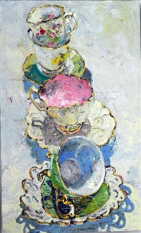 teacups by lucy culliton