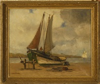 new brunswick fishing boats by walter franklin lansil