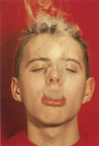 untitled (smoke boy) by walter pfeiffer