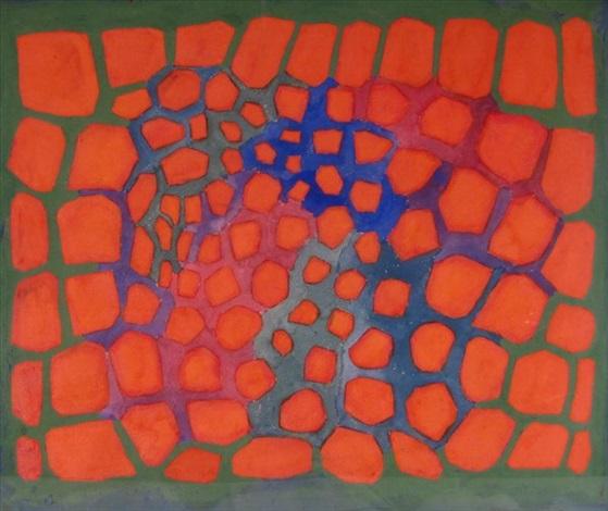 dichromatism by richard anuszkiewicz