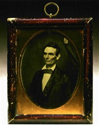portrait of lincoln by roderick a. cole