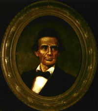 portrait of lincoln by joseph hill