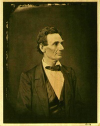 portrait of lincoln by alexander hesler