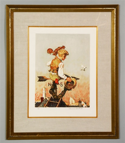 under sail by norman rockwell