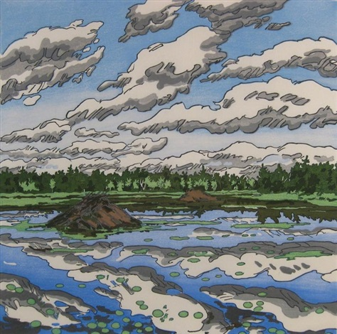 big flowage by neil welliver