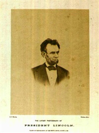 portrait of lincoln by henry f. warren