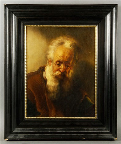 portrait of an elderly man by rembrandt van rijn