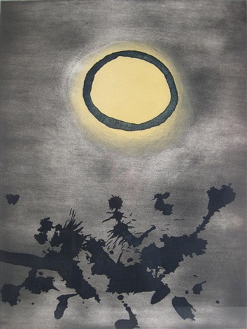 untitled benefit for phoenix house by adolph gottlieb