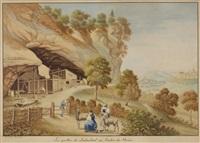 les grottes du lindenthal au canton de berne by eugene humbert