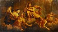 allegorie der musik. vermutlich teil einer herrschaftlichen wanddekoration by anonymous-flemish (18)