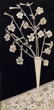 花卉油画 by sanyu