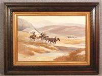 western landscape by gerald mccann