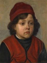 porträt eines knaben by lazar krestin