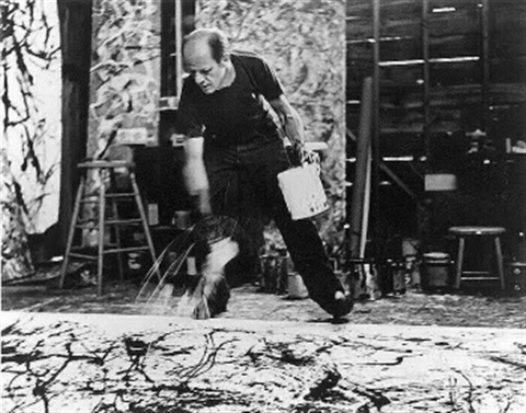 jackson pollock 1950 by hans namuth