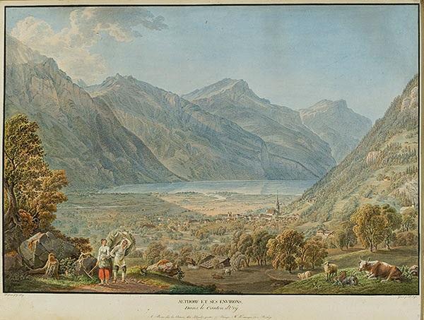 altdorf et ses environs dans le canton dury by gabriel ludwig lory