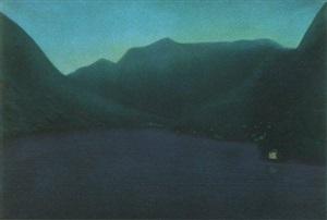 como lake by william degouve de nuncques