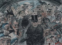masques nous sommes - masks we are by james ensor