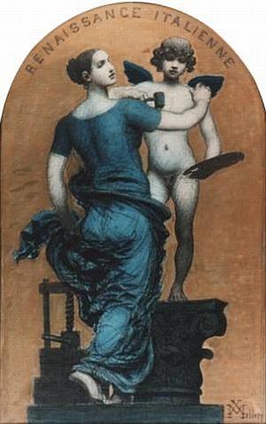 the italian renaissance by xavier mellery