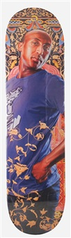alios itzhak skate deck by kehinde wiley