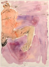 untitled by georg baselitz