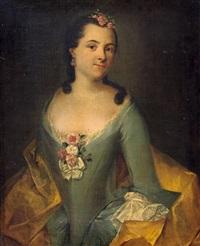 porträt einer jungen dame by anna rosina lisiewski