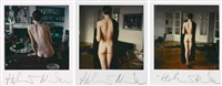 untitled (3 works) by helmut newton