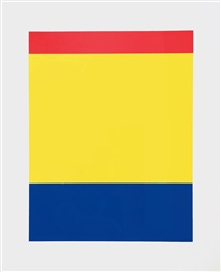 red yellow blue by ellsworth kelly