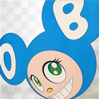 and then x5 (aqua blue) by takashi murakami