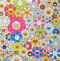 flowers from the village of ponkotan by takashi murakami