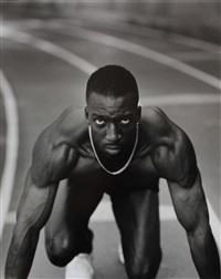 michael johnson, us olympic track, north atlanta high school, atlanta, ga by annie leibovitz