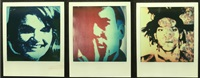 jackie kennedy, andy warhol, and jean-michel basquiat (3 works) by andy warhol