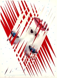 ice point (from art and sport portfolio) by james rosenquist