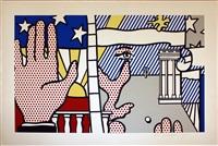 inaugural print (from inaugural impressions) by roy lichtenstein