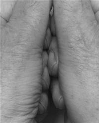 interlocking fingers, no. 22 by john coplans