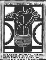 padlock by m. c. escher