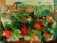 natura morta e paesaggio by ilio fiorini